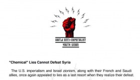 """""""Chemical"""" Lies Cannot Defeat Syria"""